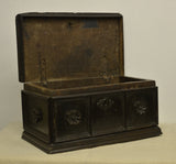 Walnut table casket, Italian, late 16th century, Caskets & Boxes - Kate Thurlow | Gallery Forty One