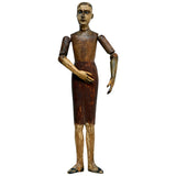 Articulated Santos figure, Spain, early 19th century