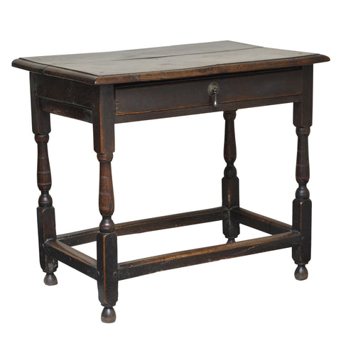 Oak sidetable, English / Welsh borders, William and Mary, circa 1690