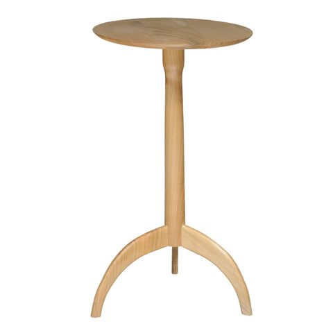Fruitwood Shaker style tripod table by Neal Poston, Wales