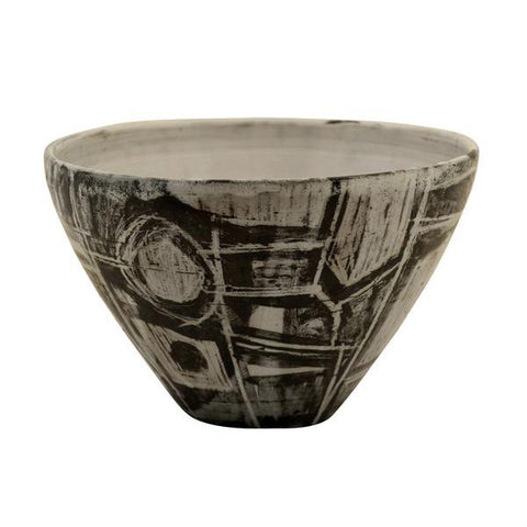 Studio pottery conical bowl, James Arnold Martin, British, (1931-2015)