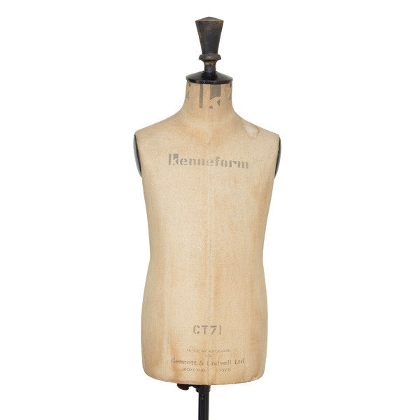 Vintage Dressmaker's mannequin, Kennett & Lindsell Ltd, Decorative Object - Kate Thurlow | Gallery Forty One