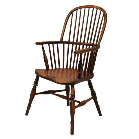 Stick Back Windsor Armchair, Early 19th Century