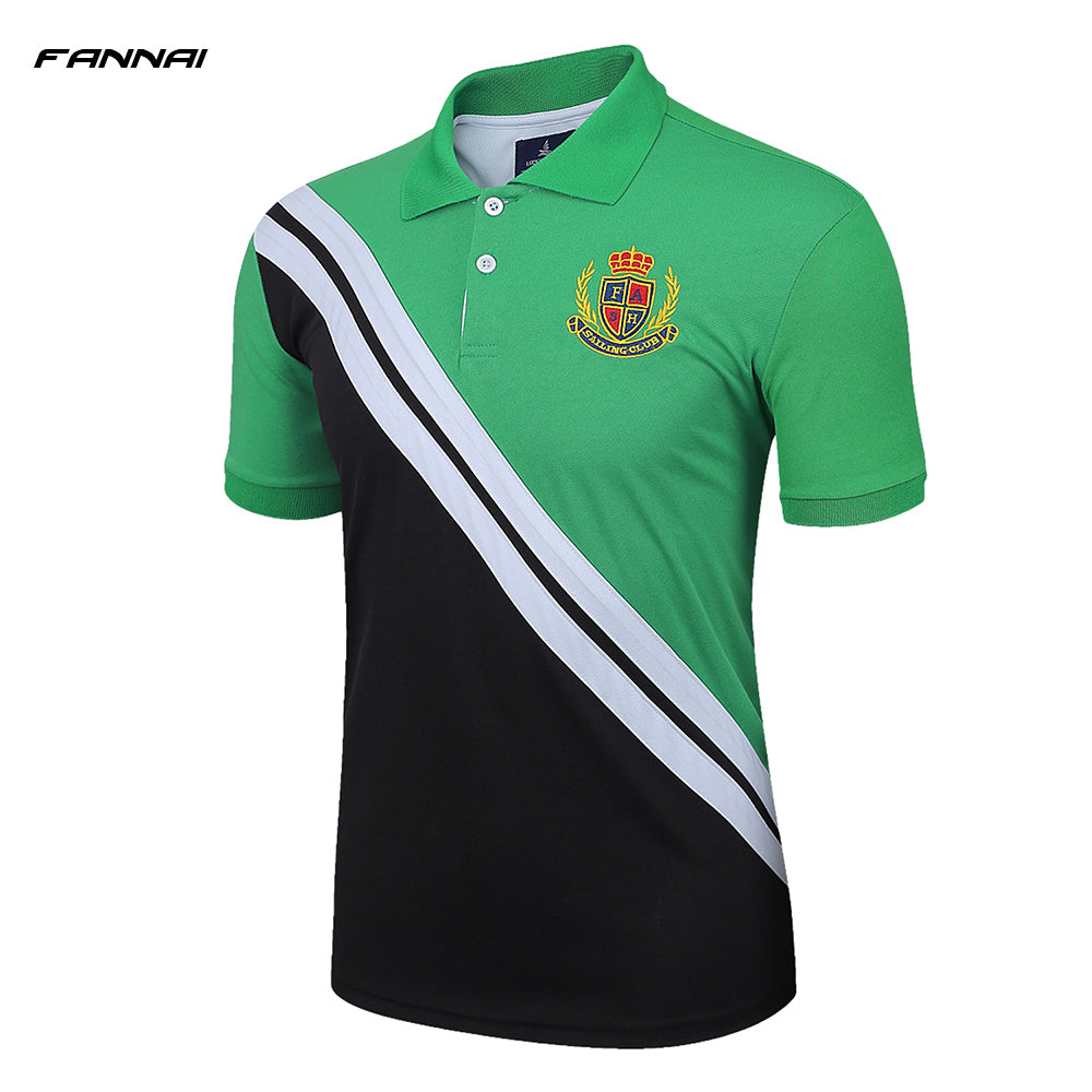 New Style Professional Trainning Exercise Men's Golf Running Training Jersey Breathable Short Sleeve Shirts Sports Tee Tops