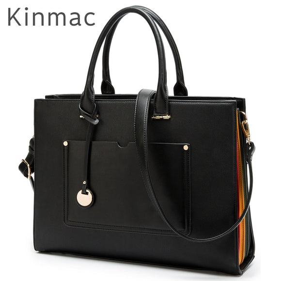 2019 New Brand Kinmac PU Leather Handbag Messenger Bag For Laptop 13 inch, Case For MacBook Air,Pro 13.3