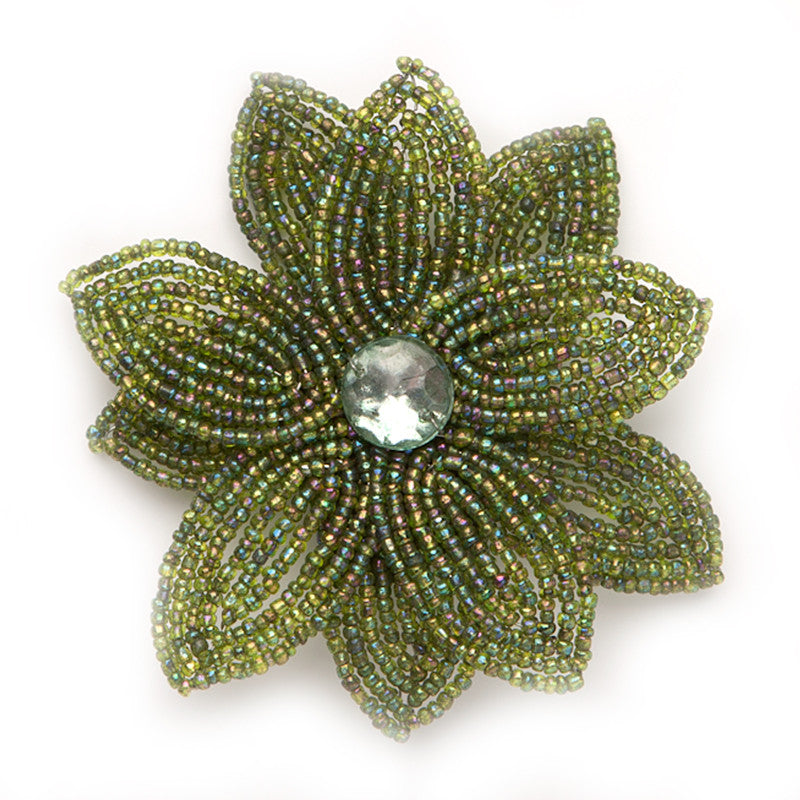 Double Daisy, Green dark