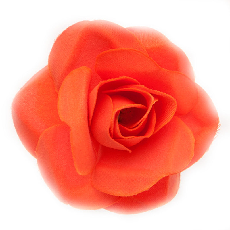 Mini Rose (15) Coral orange