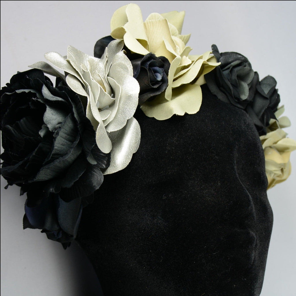 Flower headpiece, Silver
