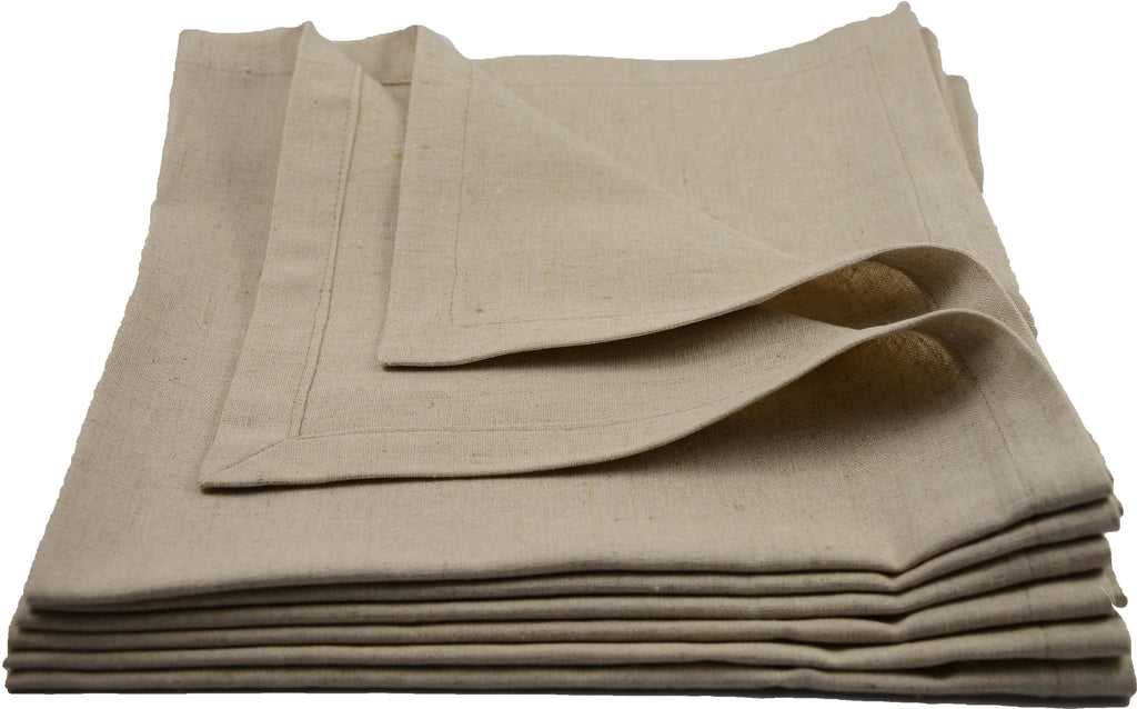 Napkin in light linen/viscose - 06