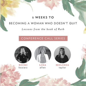5 Habits of a Woman Who Doesn't Quit Conference Call Series