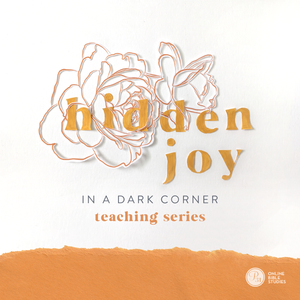 Spiritual Disciplines 101: The Hidden Joy in a Dark Corner Teaching Series