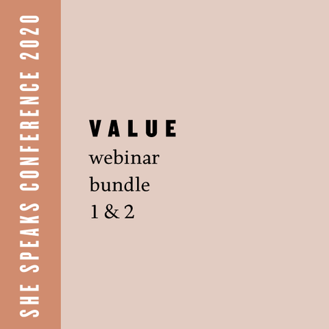 She Speaks Value Webinar Bundle: Preparing For Your Publisher Appointment