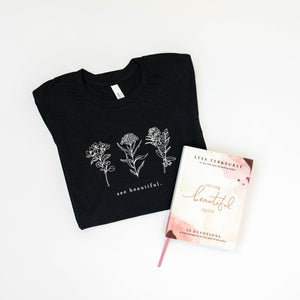 Seeing Beautiful Devo + Shirt Bundle
