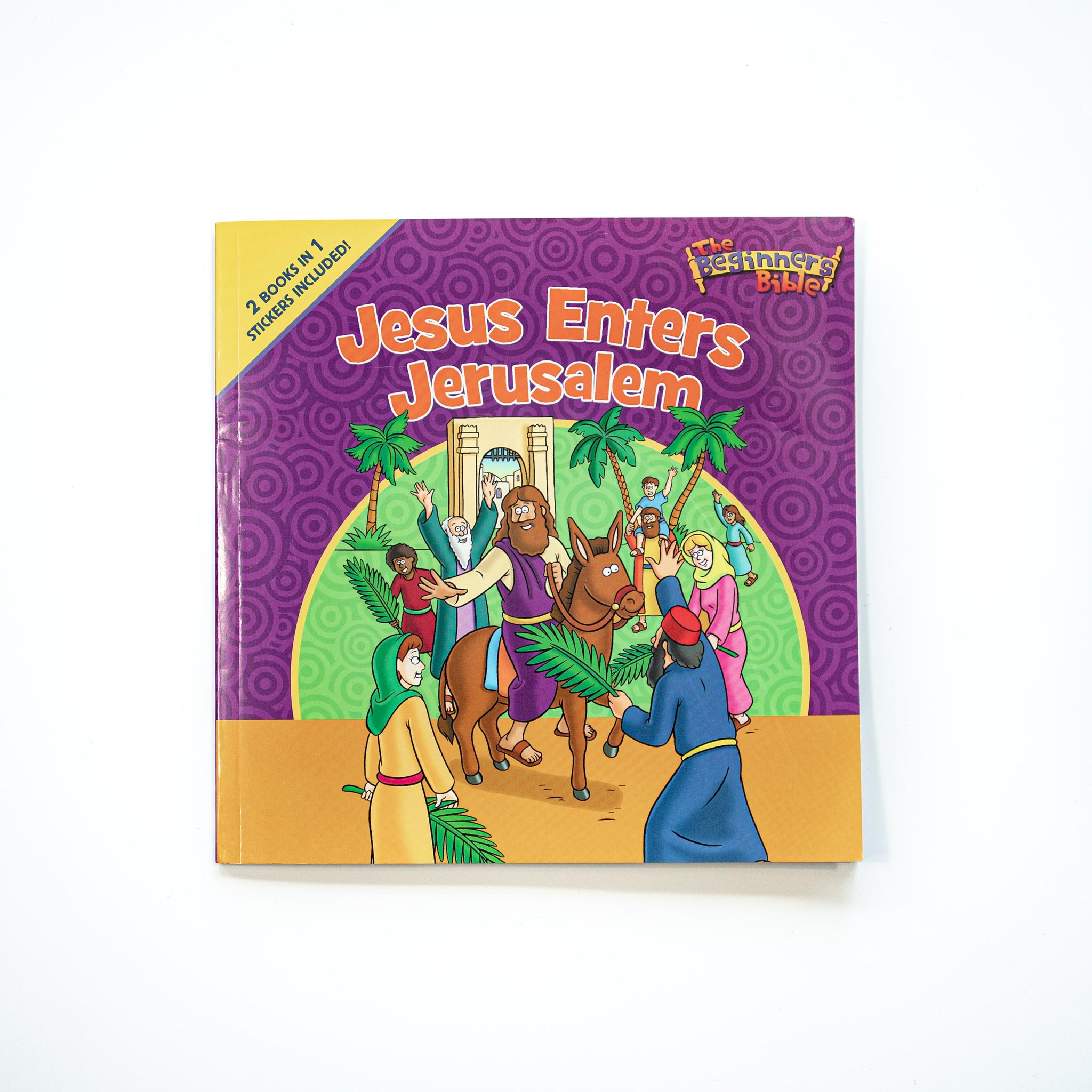 The Beginner's Bible Jesus Enters Jerusalem and He Is Risen: The Beginner's Bible Easter Flip Book