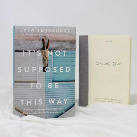 Unexpected Strength Book and Journal Bundle