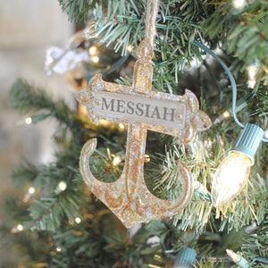 Single Messiah Ornament