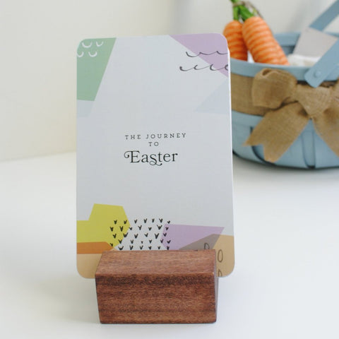 The Journey to Easter Cards (stand included)