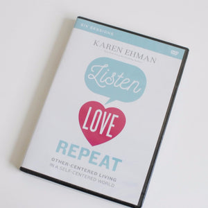 Listen, Love, Repeat DVD