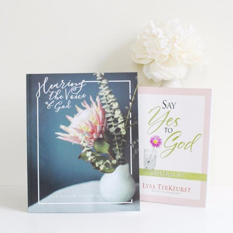Hearing The Voice of God: A Guided Prayer Journal