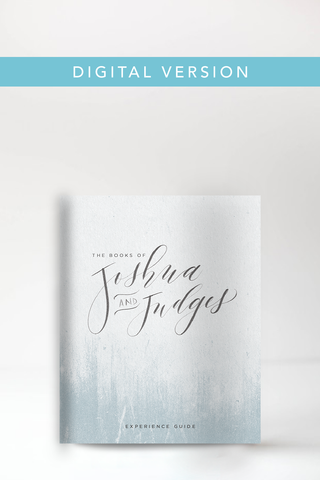 The Books of Joshua & Judges Experience Guide (Digital Version)
