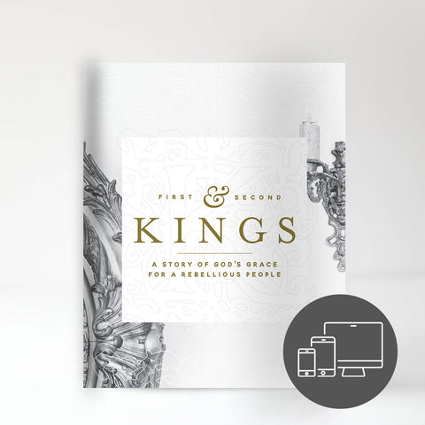 The Books of 1&2 Kings Experience Guide (Digital Version)
