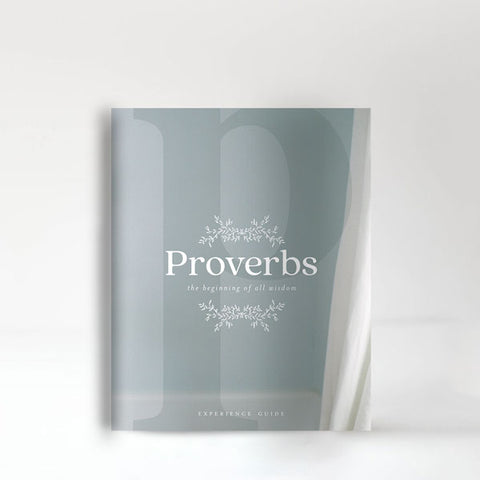 Proverbs: The Beginning of All Wisdom Experience Guide