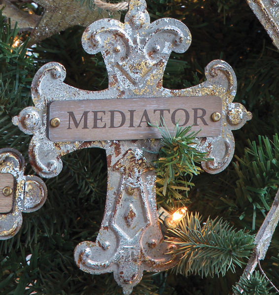 His Savior Names Ornament Set