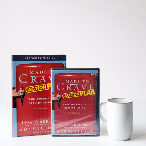 Made To Crave Action Plan: DVD and Participants Guide Bundle