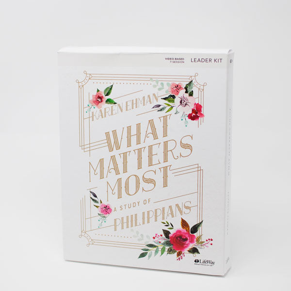 What Matters Most: A Study of Philippians, Leader Kit