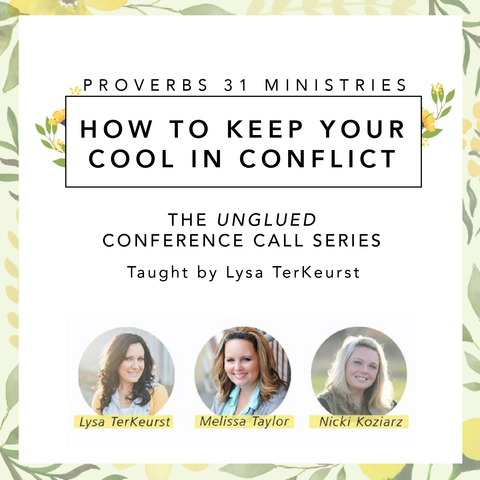 How to Keep Your Cool in Conflict: The Unglued Conference Call Series