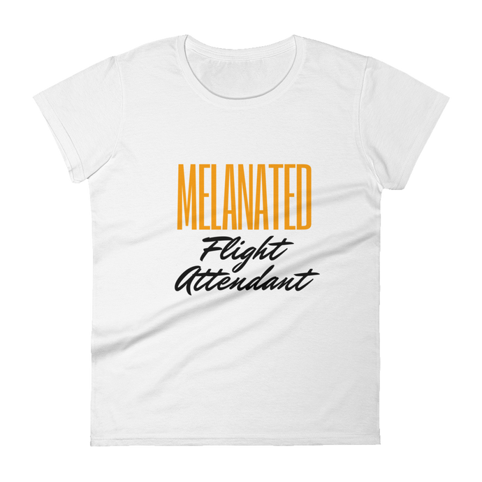 Melanated Flight Attendant