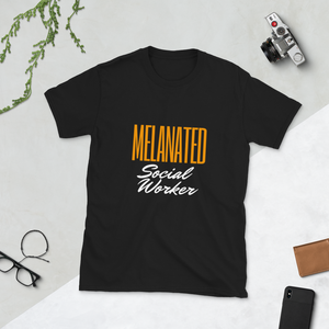Melanated Social Worker T-Shirt