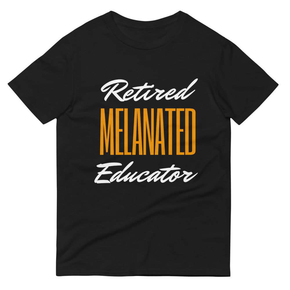 Retired Melanated Educator