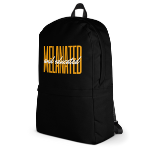 Melanated and Educated Backpack