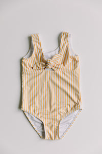 Girl's Striped One Piece