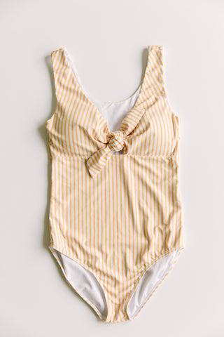 Women's Striped One Piece