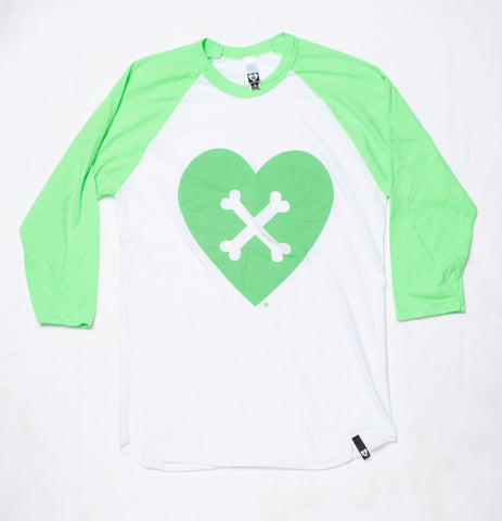 CROSS YOUR HEART RAGLAN (MINT)