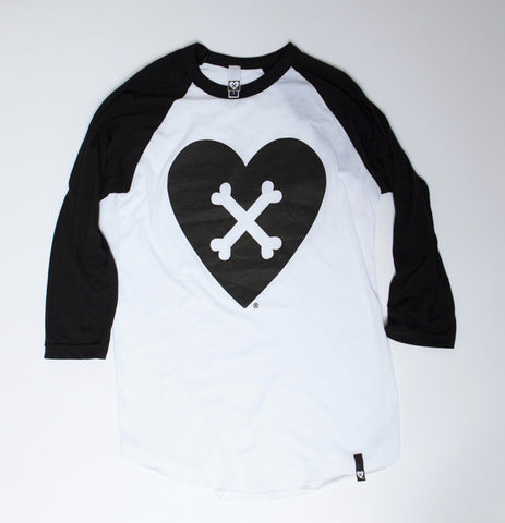CROSS YOUR HEART RAGLAN