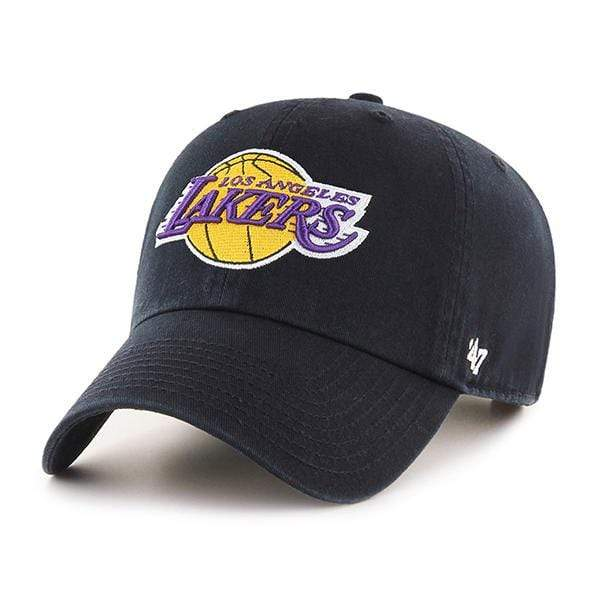 LOS ANGELES LAKERS BLACK CLEAN UP HAT - LOCAL FIXTURE