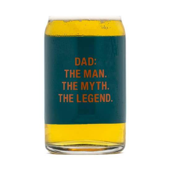 THE LEGEND BEER CAN GLASS - LOCAL FIXTURE