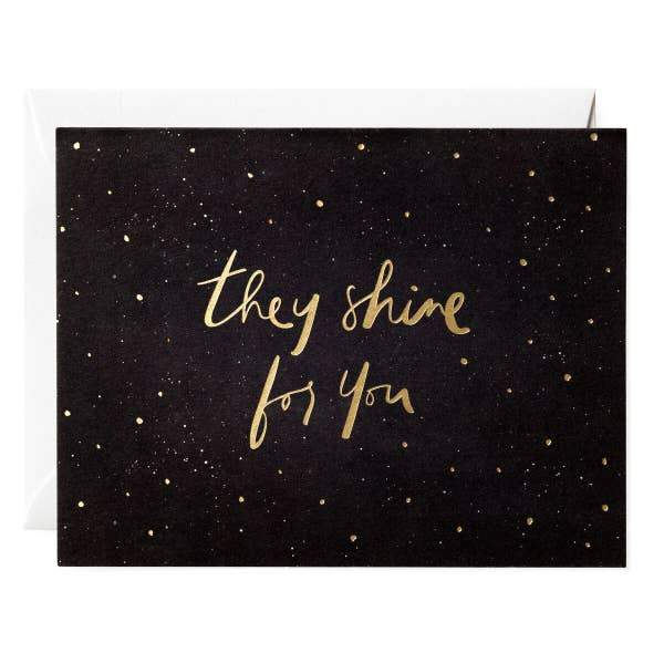 SHINE FOR YOU CARD - LOCAL FIXTURE