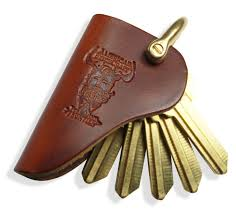 LEATHER KEY HOLSTER - LOCAL FIXTURE
