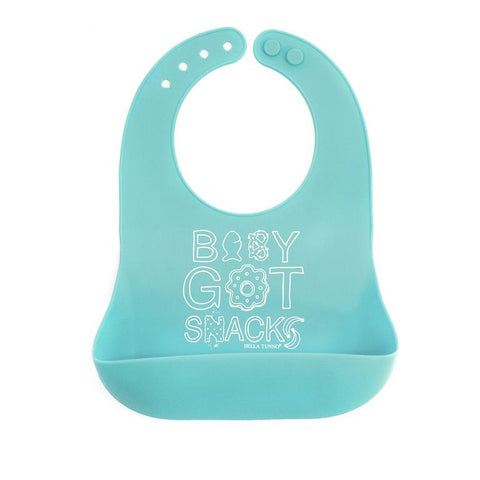 BELLA TUNNO BABY GOT SNACKS WONDER BIB - LOCAL FIXTURE