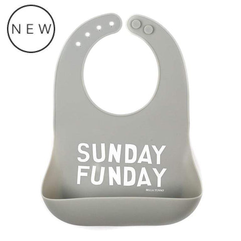 BELLA TUNNO SUNDAY FUNDAY WONDER BIB - LOCAL FIXTURE