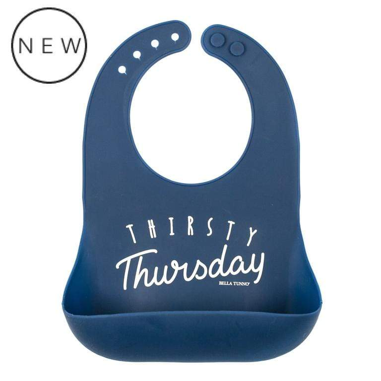 BELLA TUNNO THIRSTY THURSDAY WONDER BIB - LOCAL FIXTURE