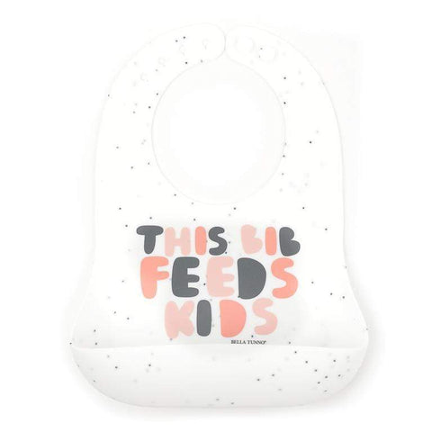 BELLA TUNNO THIS BIB FEEDS KIDS WONDER BIB - LOCAL FIXTURE