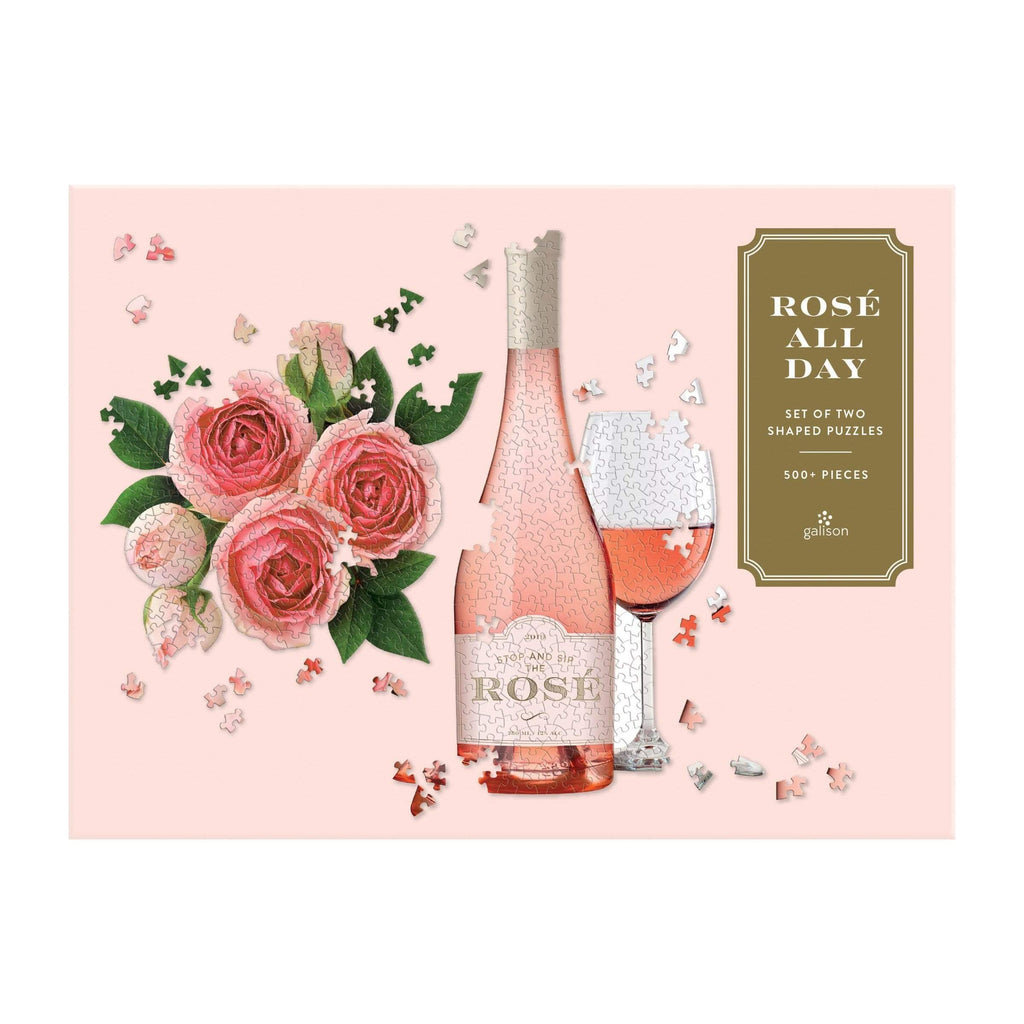 Rose All Day Set of Two Shaped Puzzle Set - LOCAL FIXTURE