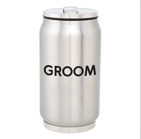 STAINLESS STEEL CAN - GROOM - LOCAL FIXTURE