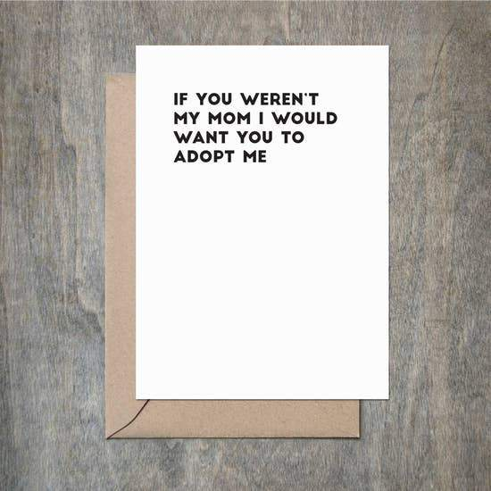 MOM ADOPT ME CARD - LOCAL FIXTURE