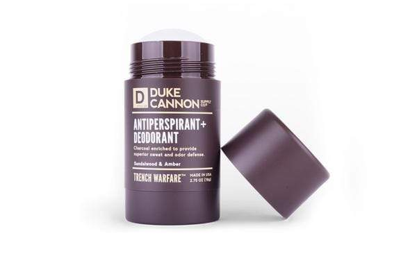 DUKE CANNON TRENCH WARFARE A/P + DEODORANT - LOCAL FIXTURE